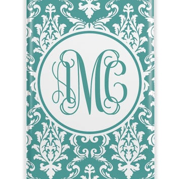 ELEGANT FLORAL DAMASK - PRETTY WOMEN'S PERSONALIZED IPHONE CASE