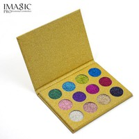 2017 NEW Glitter Eyeshadow Palette Glitter Powder Makeup Palette Professional Long Lasting Shimmer Eyeshadow Palette