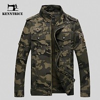 Men's Cotton Jacket Jeans Military Male Spring Autumn Soldier jacket Men's US Army Jacket