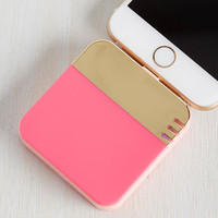 Colorblocking Beauteous Backup Battery Pack in Colorblock by ModCloth
