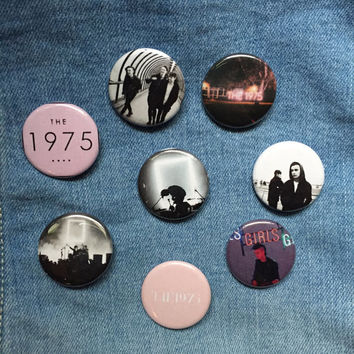 The 1975 1.25 Inch Pinback Buttons