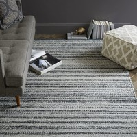 Steven Alan Tweed Wool Rug - Heather Gray