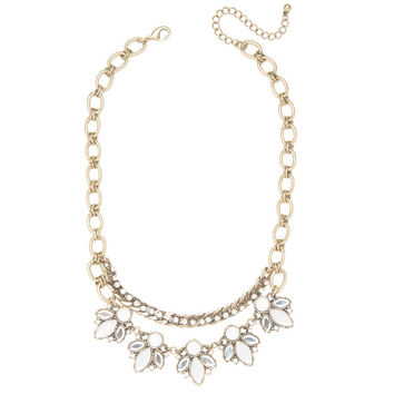 Magnolia Frost Necklace