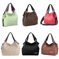 Fashion Women Vintage Handbag Candy Color PU Leather Patchwork Crossbody Messenger Shoulder Bag Tote H11839_W_24701 = 1958310212