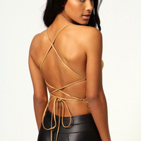 Jenny Chainmail Open Back Top