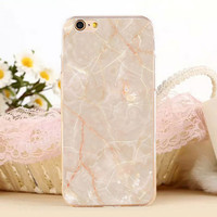 Marble Stone Protect iPhone 5s 6 6s Plus creative case + Gift Box
