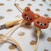 Rilakkuma Earbud Headphones by Lucifurious on Etsy