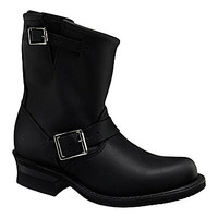 Frye Engineer 8R Leather Boots - Black