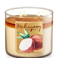 Mahogany Coconut 3-Wick Candle | Bath And Body Works