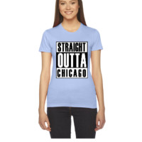 Straight Outta Chicago - Women's Tee