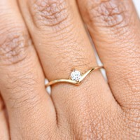 Super Nova Diamond Ring