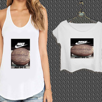 nike basketball just do it and passion For Woman Tank Top , Man Tank Top / Crop Shirt, Sexy Shirt,Cropped Shirt,Crop Tshirt Women,Crop Shirt Women S, M, L, XL, 2XL*NP*