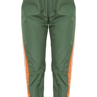 Khaki Stripe Shell Suit Jogger