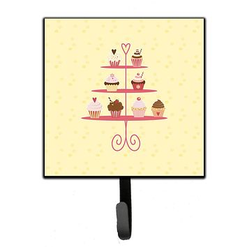 3 Tier Cupcakes on Yellow Leash or Key Holder BB7289SH4