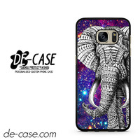 Aztec Elephant Space Galaxy Design Black DEAL-1257 Samsung Phonecase Cover For Samsung Galaxy S7 / S7 Edge