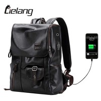 Backpack External USB Charge and Antitheft