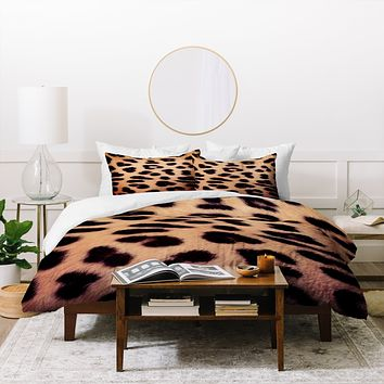 Ballack Art House Leopard 1986 Duvet Cover