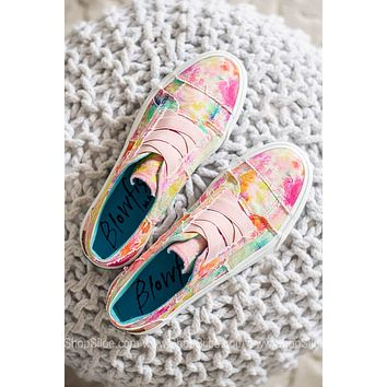Marley Canvas Sneakers | Pink Rainwater