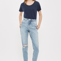 PETITE Rip Mom Jeans | Topshop