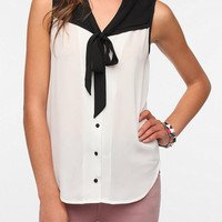 Pins and Needles Colorblock Sleeveless Blouse
