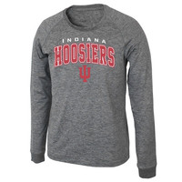 Indiana Hoosiers Slate Long Sleeve T-Shirt – Heather Gray