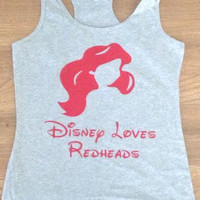 Free Shipping for US Ariel The Little Mermaid  Princess Tank Top