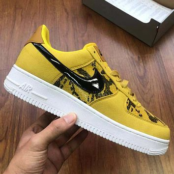Nike Air Force One fashion low-top casual sneakers for both men and women-14