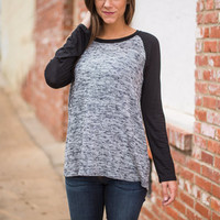 Out Of The Park Tee, Gray