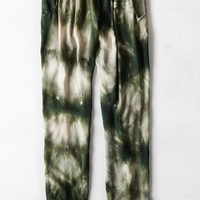 AEO Women's Don't Ask Why Soft Pant (Olive Dust)