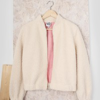 Lissy Shearling Bomber Jacket