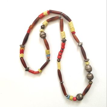 Antique African Amber Trade Beads