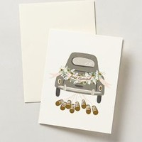 Just Married Card by Rifle Paper Co. Grey One Size House & Home