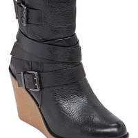 BCBGeneration Finland Wedge Ankle Booties