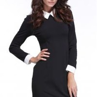 Elegant Spring Women's Ladies Office Business Formal Tonic Pencil Slim Party Stretch Dresses_Dresses_Women_The Latest Trends & Fashion Clothing For Women Online Store-www.dressin.com