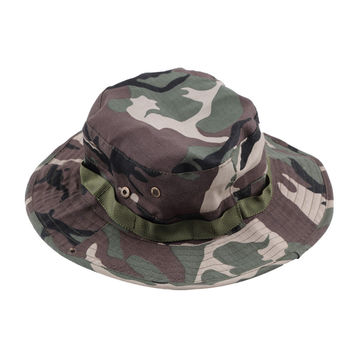Fasion Military Camouflage Bucket Hats Camo Fisher Hats With Wide Brim Sun Fishing Bucket Hat Camping Hunting Hat