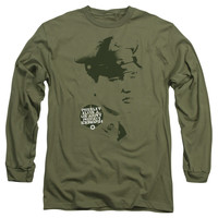 ELVIS/PRIVATE PRESLEY-L/S ADULT 18/1-MILITARY GREEN