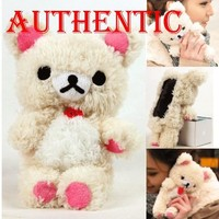 Authentic iPlush Plush Toy Cell Phone Case for iPhone 5 - Company Direct Sell 100 Percent Authentic (White Bear)