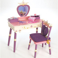 Always a Princess Vanity Table and Chair