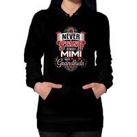 NEVER STAND MIMI Hoodie (on woman)