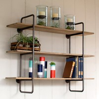 Rustic Symmetry Shelf