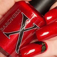 'Tis the Season to be Merry - Red Jelly w/ Red Metallic Microflakies