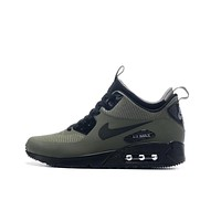 Nike AIR MAX 90 UTILITY Retro Men Running Shoes Navy