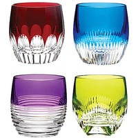 WATERFORD - Mixology Double Old Fashioned set-of-four crystal shot glasses | Selfridges.com