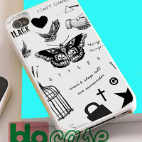 One Direction Harry Styles Tattoos For Iphone 4/4s, iPhone 5/5s, iPhone 5C, iphone 6, and iPhone 6 Plus Case