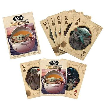 Star Wars™ The Mandalorian The Child Playing Cards