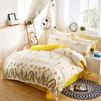 Bedding Set Duvet Cover Bed Sheet Pillowcase
