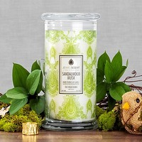 Jewelry Candles: Sandalwood Musk Candle- JewelScent