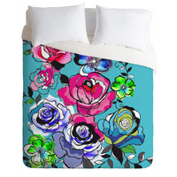 Mary Beth Freet Pen And Pink Duvet Cover