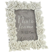 rose frame white 3.5x5 at Paperchase