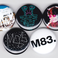 M83 | Hurry Up, We're Dreaming Midnight City M83. Band Buttons Pins Badges Pinback